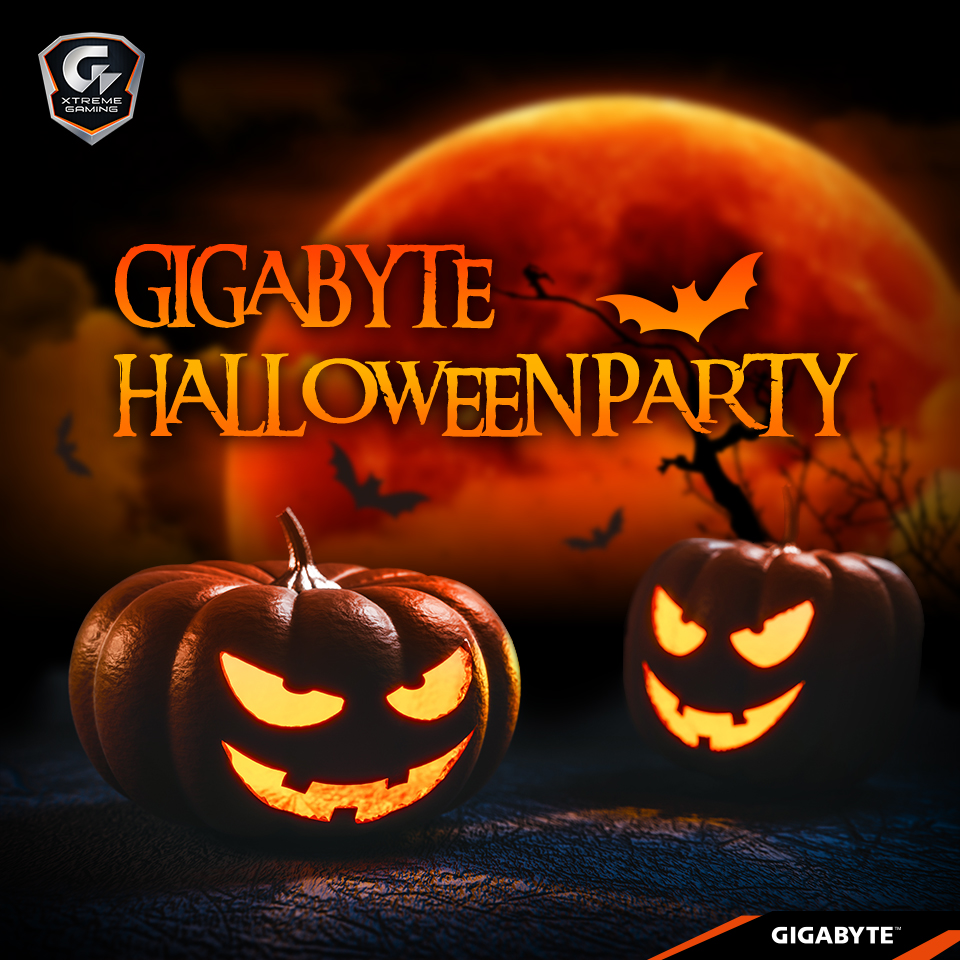 GIGABYTE  Halloween Party