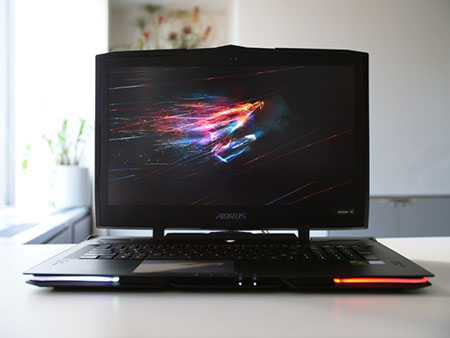 The Aorus X9 is a powerful, solidly built, and slim prime gaming notebook.